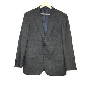Joseph Abboud wool tweed 2 button blazer suit 42S